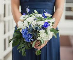 Blue Wedding Flowers Fall Flower Bouquets For Festive Autumn Weddings Inside Weddings