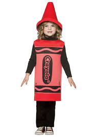 3t Halloween Costume Red Toddler Crayon Costume Infant Crayon Halloween Costumes