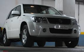 my latest aquisition grand vitara 2008 team bhp
