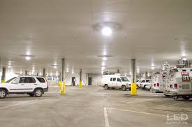 dialight corporation dialight led low bay fixtures provide a dialight led low bay fixtures provide a clever lighting solution for denver s fox31 parking garage