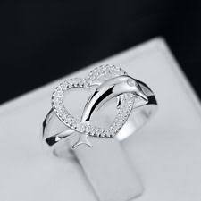 dolphin engagement ring dolphin ring ebay