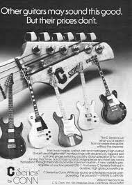 conn electric guitars