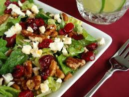 cranberry pecan salad with feta cheese recipe blueberry