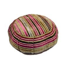 Pink Round Cushion Everything Yoga Round Cotton Zafu Meditation Cushion Everything Yoga