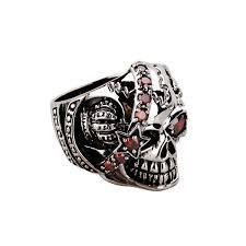 cool rings for men sterling silver pirate skull men cool rings men rings