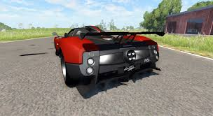 pagani gta 5 zonda cinque roadster 2009 for beamng drive