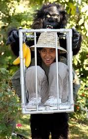 Halloween Illusion Costumes Coolest Caged Illusion Costume Gorilla Wild Homemade