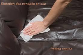 produit entretien cuir canapé entretien des canapés en cuir votremobilier com