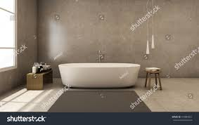 jacuzzi bath design modern loft 3d stock illustration 419083021