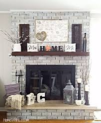 How To Finish A Fireplace - best 25 painting a fireplace ideas on pinterest painting