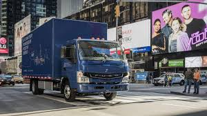 mitsubishi fuso ups adds mitsubishi fuso ecanter electric truck to its u s fleet