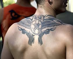 cool upper back tattoos for guys tattoos book 65 000 tattoos