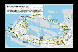 map of abu dabi abu dhabi tour stage maps cycling routes for all four days in