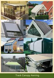 Track Canopy by Sun Shade Track Retractable Roof Awnings For Patio Or Deck Buy