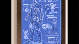 iron man blueprints for mark 6 prototype arc reactor mark 5