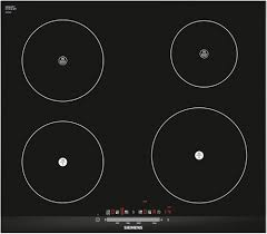 Siemens Cooktop Induction Buy Siemens Eh675fe27e Induction Hob Black Glass With Stainless