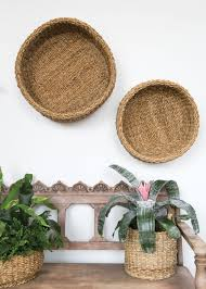 round seagrass bowl baskets u0026 planters at afloral com