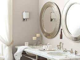 oval pivot bathroom mirror