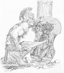 perseus and medusa mythology pinterest