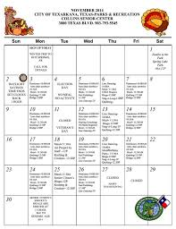 collins senior center announces calendar for november city of