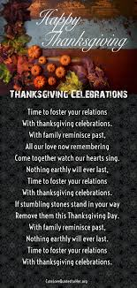 25 thanksgiving poems to wish him thankful poems