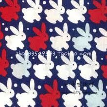 rabbit material popular rabbit print fabric buy cheap rabbit print fabric lots