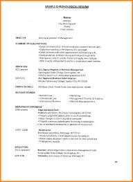 Chronological Resume Sample by 4 College Freshman Resume Template Cashier Resumes