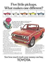 toyota pickup toyota trucks advertisement gallery