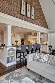 Open Kitchen Dining Room Designs by Best 25 Support Beam Ideas Ideas On Pinterest Basement Pole