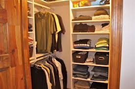 interior amazing picture of small walk in closet design using