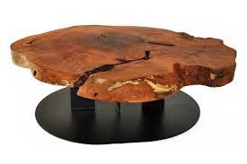 Small Oval Coffee Table by Rotsen Furniture Live Edge Oval Coffee Table