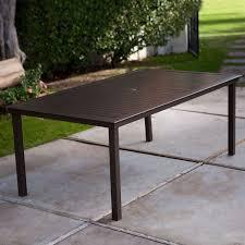 folding patio table with umbrella hole folding patio table with umbrella hole patio designs