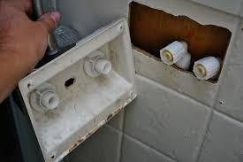 Camper Faucet Installing Swanky New Rv Shower Fixtures