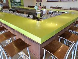 Yellow Bar Table Furniture Caesarstone Concetto For Bar Table Ideas