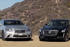 2010 lexus gs 350 youtube cadillac cts vsport goes head 2 head with lexus gs 350 f sport