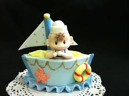 sailboat cake topper nautical favors sailboat cake topper sailor boy cake topper