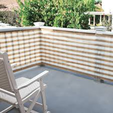 privacy screen for deck porch and patio railings the green head