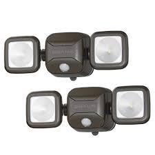 mr beams security lights mr beams wireless 140 degree bronze motion sensing outdoor
