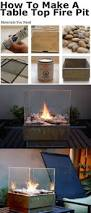 How To Make Firepit by How To Make A Table Top Fire Pit Pictures Photos And Images For