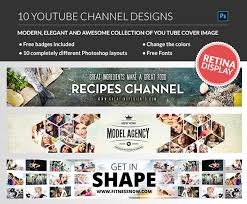 free youtube banner layout 40 best social media banner templates