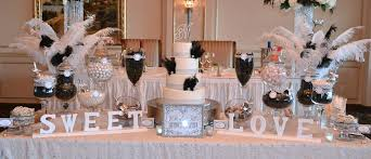 wedding candy table black and white wedding candy buffet table candy bars