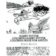 harry potter coloring book adults paperback steve kayus