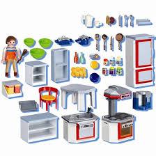 cuisine playmobil 5329 playmobil 4283 cuisine équipée achat vente univers miniature