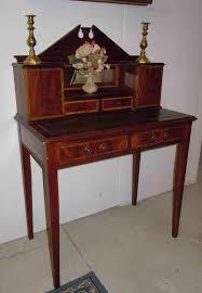 bureau antiquaire petit bonheur du jour bureau de dame en acajou antiquités