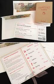 Boarding Pass Wedding Invitation Card Travel Inspired Wedding Stationery Lisa Loves Design