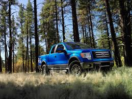 truck ford blue 2009 ford f 150 blue front and side low view 1600x1200 wallpaper