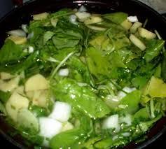 cuisiner feuilles de radis recette potage aux feuilles de radis 750g