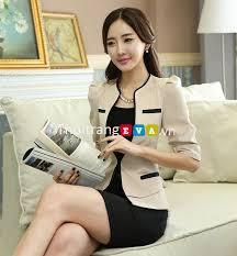 ao nu dep tuyển tập những mẫu áo vest công sở đẹp mùa thu 2017 thời trang