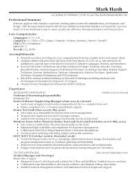 Product Manager Resume Samples by Download Engineering Manager Resume Haadyaooverbayresort Com