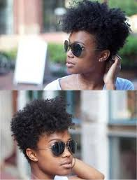 short natural tapered low hairstyles with a part 23 must see short hairstyles for black women styles weekly